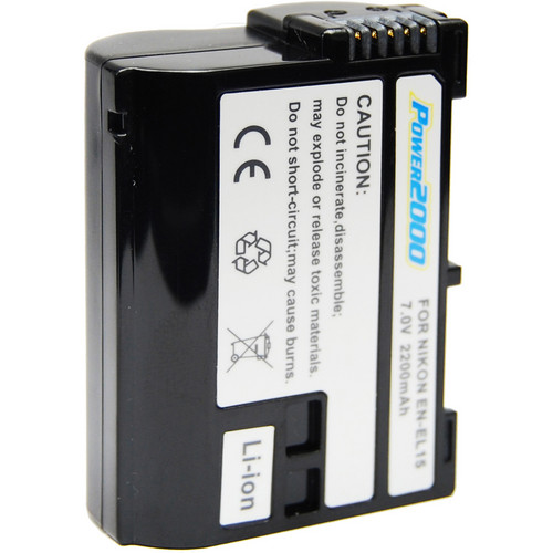 Power2000 ACD-410 Rechargeable Lithium-Ion Battery (7.0V 2200MAH)