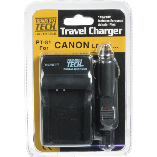 Power2000 Battery Charger for Canon LP-E12 Battery Pack (110-220VAC)
