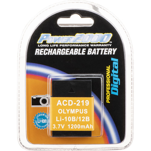 Power2000 ACD-219 Lithium Ion Battery (3.7v 1200mAh)