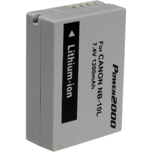 Power2000 ACD-347 Rechargeable Lithium-Ion Battery (7.4V, 1200mAh)