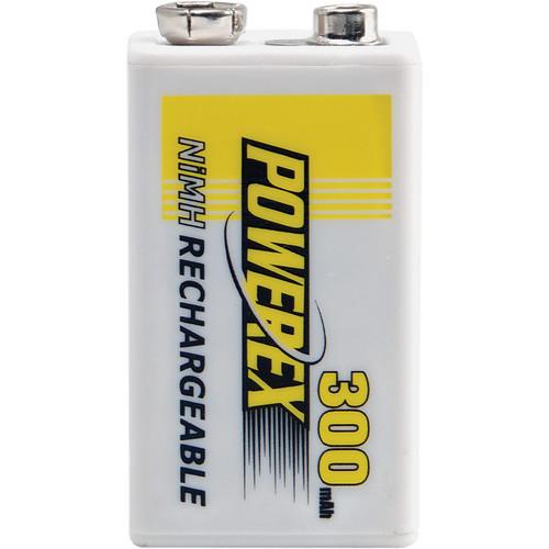 Powerex MHR84V Rechargeable NiMH Battery (8.4V, 300mAh)