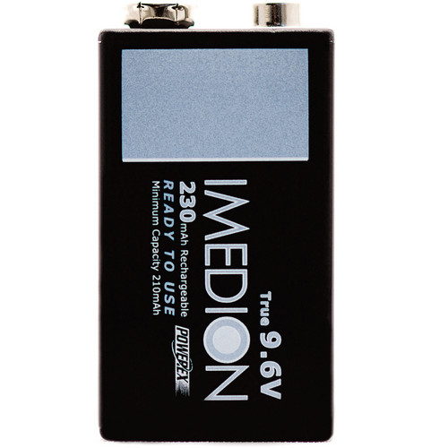 """Powerex MHR9VI IMEDION """"Ready When You Are!"""" Rechargeable NiMH Battery (9.6V, 230mAh)"""