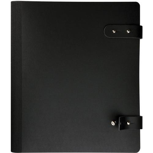 "Prat 163-10X8 Pampa Spiral Book (10.0 x 8.0"", Black)"