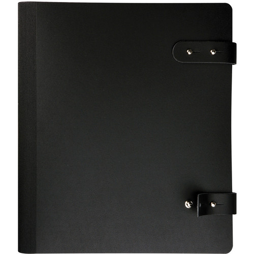 "Prat 163-12.5X9.5 Pampa Spiral Book (12.5 x 9.5"", Black)"