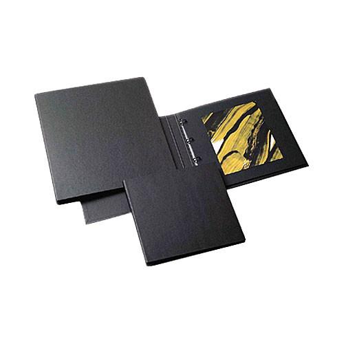 """Prat Professional Ring Binder - 9.5 x 12.5"""" - Black"""