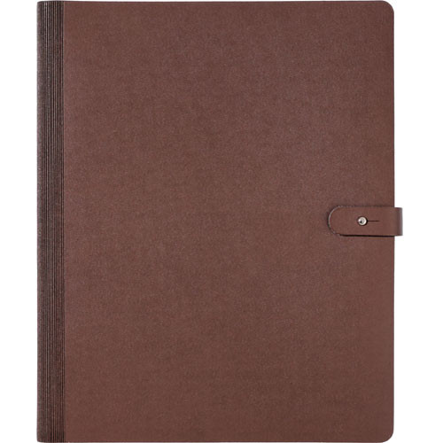 "Prat Pampa Spiral Book - 11 x 14"" - Brown"