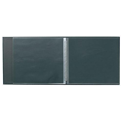"""Prat Landscape ModeBook Spiral Book - 8.5x11""""  (Landscape Format) (Black)"""