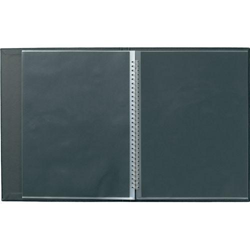 "Prat Laser Spiral Book - 8x10""  (Portrait Format) (Black)"
