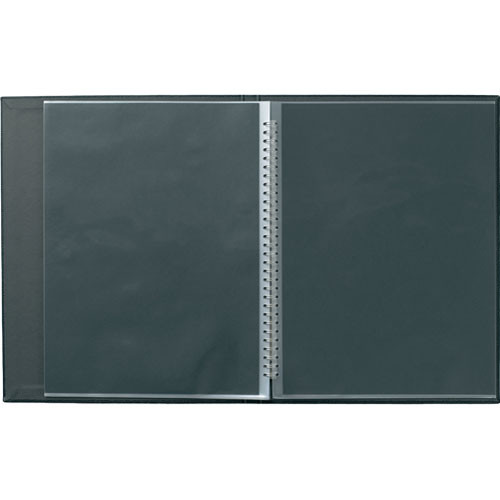"Prat Modebook 149 Spiral Book (8.5 x 11"", Vertical, Black)"