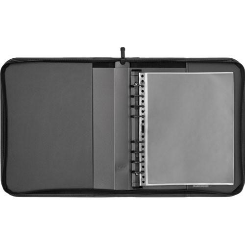"Prat Elite Portbook Presentation Case - 8.5 x 11"" - Black"