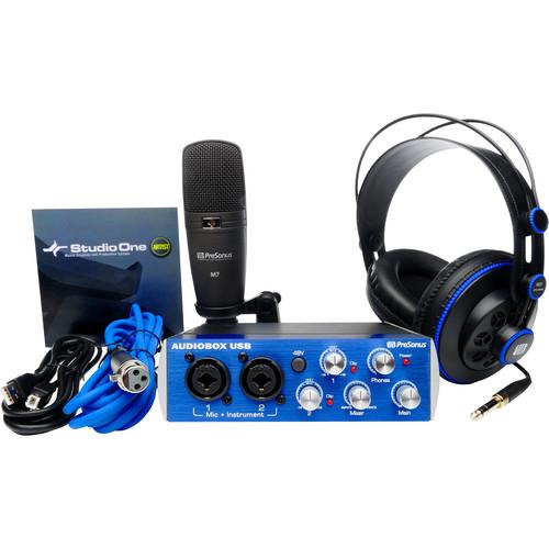 PreSonus AudioBox Studio Set - Complete Hardware/Software Recording Kit
