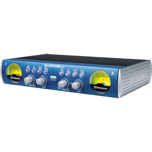 PreSonus BlueTube DP v2 - Mic/Instrument Tube Preamp