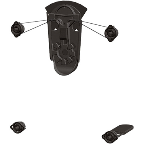 "Premier Mounts Low-Profile Cable Mount for up to 63"" Flat-Panels"