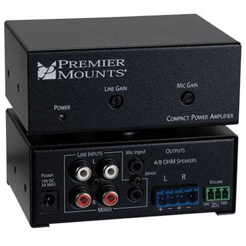 Premier Mounts CPA-50 Compact Power Amplifier