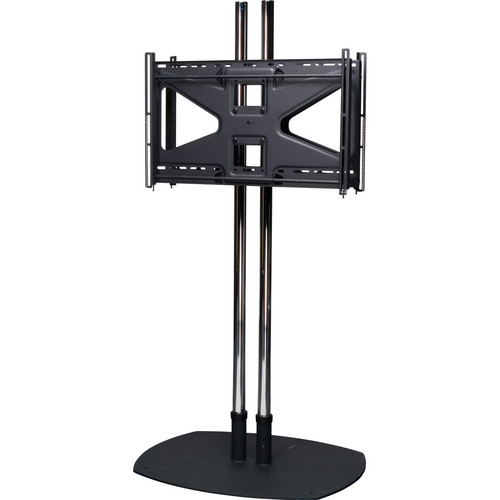Premier Mounts CS84-2MS2 Floor Stand Combo with 2 Tilting Mounts