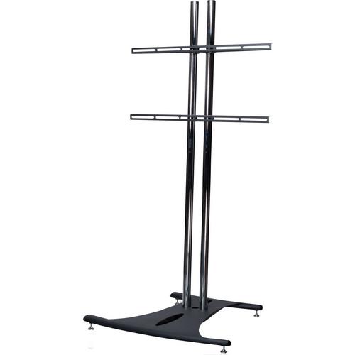 Premier Mounts EB72-UFA Floor Stand Combo with Universal Flat Mount