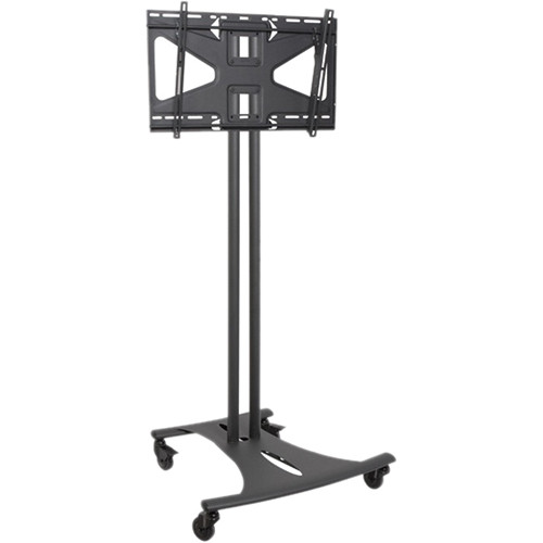 Premier Mounts Mobile Cart Combination EBC72B-MS2 (Black)