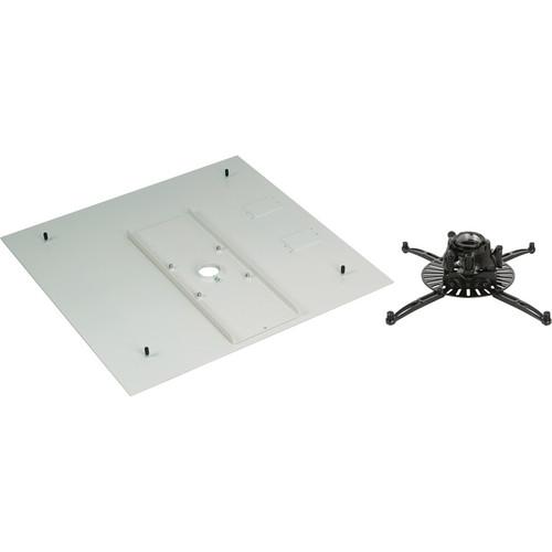 Premier Mounts FTP Projector Mount with PP-FCMA Full-Tile False Ceiling Adapter (Black)