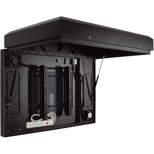 """Premier Mounts Indoor/Outdoor Enclosure for Flat-Panel Displays Up to 40"""" (Black)"""