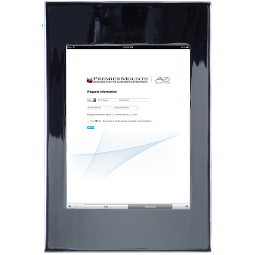 Premier Mounts IPM-700 iPad Mounting Frame (Chrome)