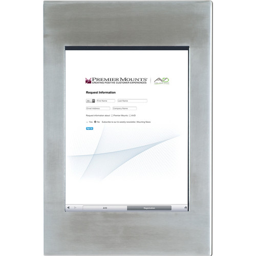 Premier Mounts IPM-700 iPad Mounting Frame (Stainless Steel)