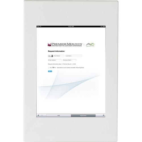 Premier Mounts IPM-700 iPad Mounting Frame (White)