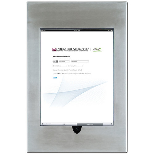 Premier Mounts IPM-710 iPad Mounting Frame (Stainless Steel)