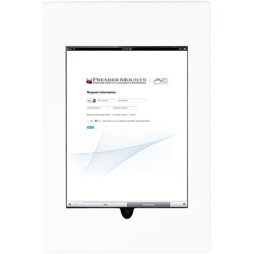 Premier Mounts IPM-710 iPad Mounting Frame (White)