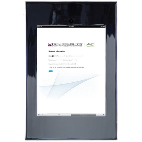Premier Mounts IPM-720 iPad Mounting Frame (Chrome)