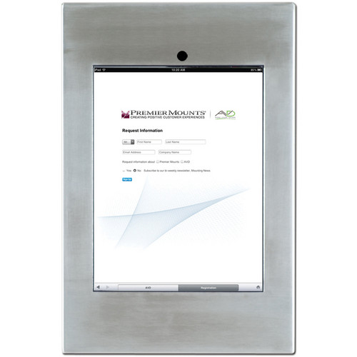Premier Mounts IPM-720 iPad Mounting Frame (Stainless Steel)
