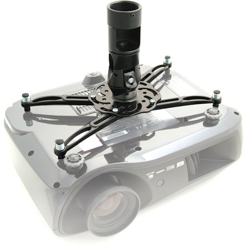 Premier Mounts Polaris Universal Projector Mount/False Ceiling Pl (Black/White)