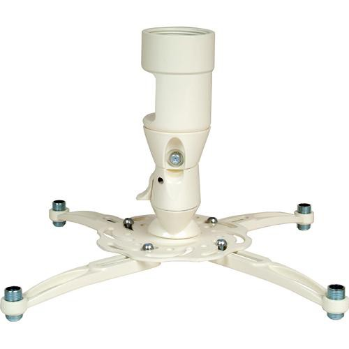 "Premier Mounts MAG-PRO Universal Projector Mount with 1.5"" NPT (White)"