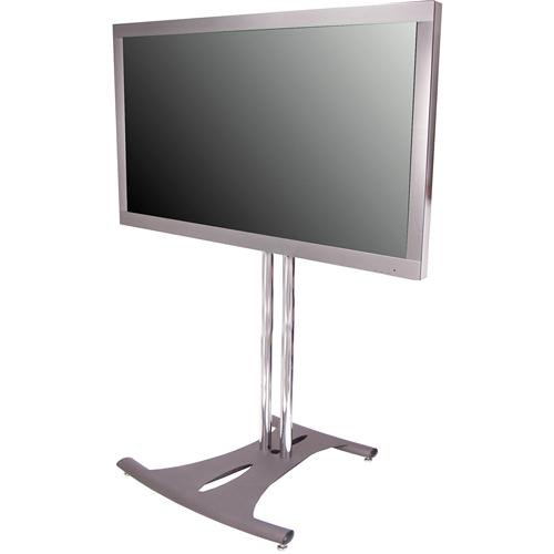 "Premier Mounts PSD-EB72B  Elliptical Floor Stand for Flat Panel Displays (72"" Black Poles)"