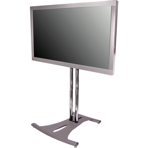"Premier Mounts PSD-EB84B  Elliptical Floor Stand for Flat Panel Displays (84"" Black Poles)"