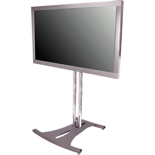 "Premier Mounts PSD-EB84 Elliptical Floor Stand for Flat Panel Displays (84"" Chrome Poles)"