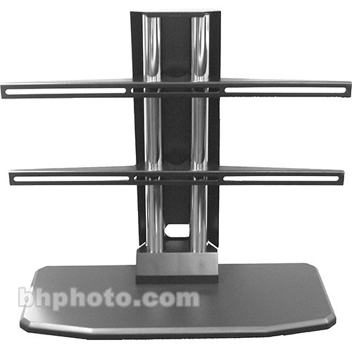 Premier Mounts Universal Tabletop Stand Tabletop Stand for Flat-Panels up to 160 lb (Black)