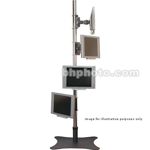 Premier Mounts PSP-60 LCD Floor Stand (Chrome)