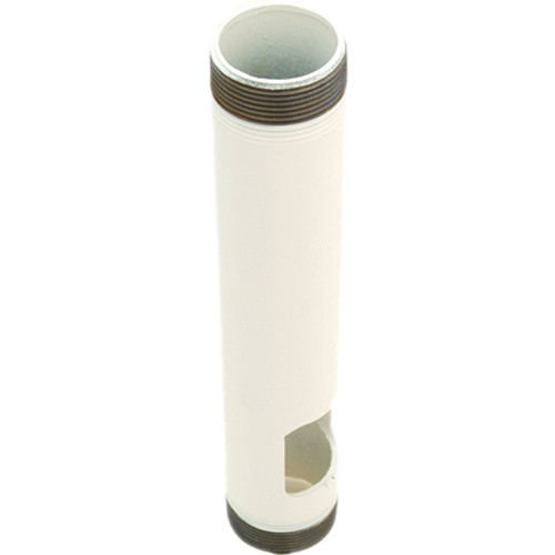 """Premier Mounts PWH-12W Pipe With Outlet (12"""", White)"""