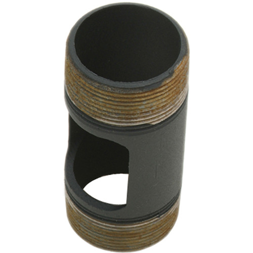 """Premier Mounts PWH-6B Pipe With Outlet (6"""", Black)"""