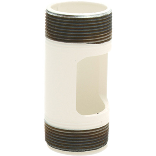 """Premier Mounts PWH-6W Pipe With Outlet (6"""", White)"""