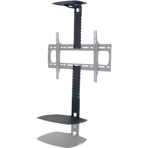 Premier Mounts A/V Shelving System for Low Profile Flat-Panel Mounts