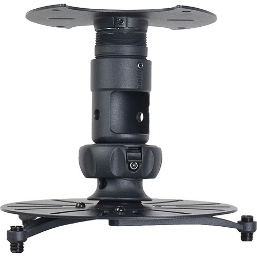 Premier Mounts Universal Projector Ceiling Mount (Up to 45 lbs - Black)