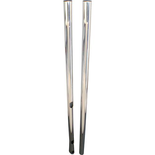 Premier Mounts Premier Mounts Extra Dual Poles, 84-in. chrome - T84