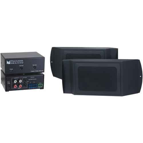 Premier Mounts Audio Upgrade Kit for UNI Wall Mounts (Black)