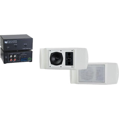 Premier Mounts UNI-AUDIO Audio Upgrade Kit for UNI Series Mounts (White)