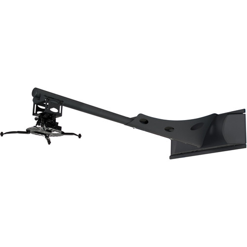 Premier Mounts Short-Throw Projector Wall Mount with Extension & FTP Mount (Black)