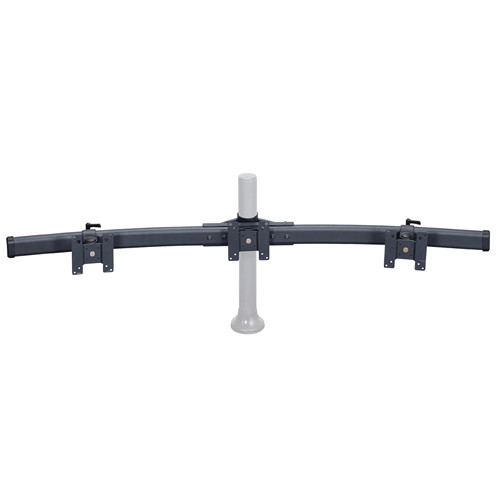 Premier Mounts Triple Monitor Curved Bow Arm