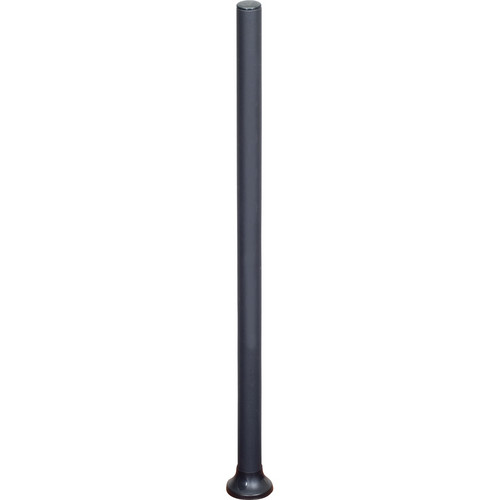 "Premier Mounts 42"" Single Pole with Horseshoe Grommet Base"