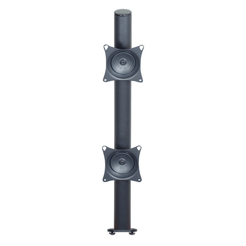 "Premier Mounts MM-VE282 2 VESA Pole Mounts on 28"" Pole with Extrusion Base"