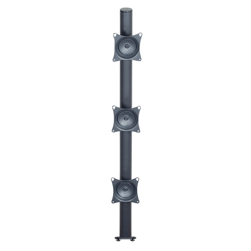 "Premier Mounts MM-VE423 3 VESA Pole Mounts on 42"" Pole with Extrusion Base"